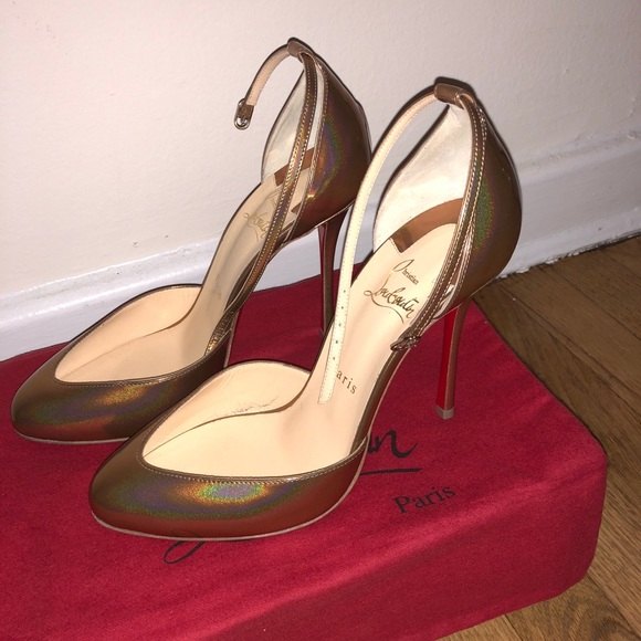 6e379d7ccc16 Christian Louboutin Shoes - Dollyla 100 Metal Patent